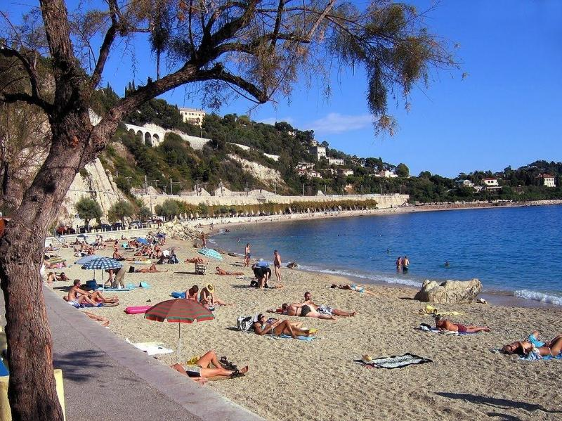 Beach, only five minutes walk from Petit Paradis