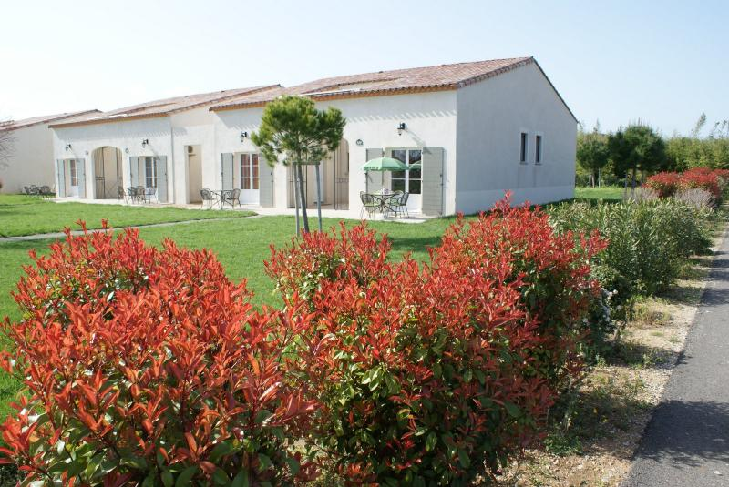 Villa with shared swimming pool 15 mins to beach, location de vacances à Aigues-Vives