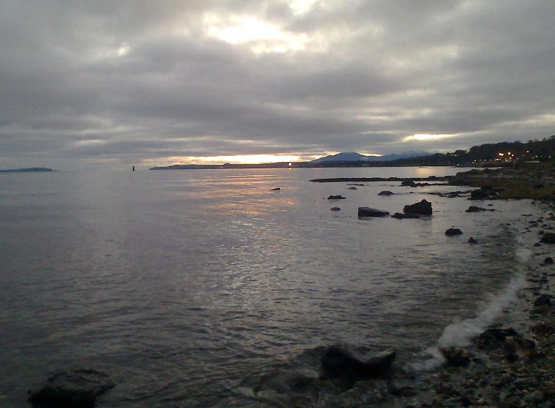 Sunset at Innellan beach