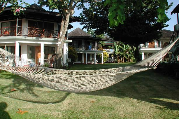 Hammocks on site set up for your relaxation!