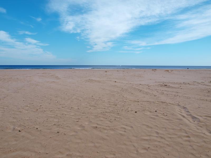 Playa de la Patacona, Alboraya (Valencia). Patacona Beach, Alboraya (Valencia).