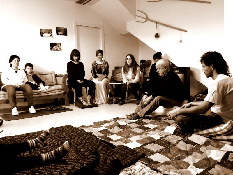 Planta baja  con posibilidad de utilizarlo como sala de yoga/meditación