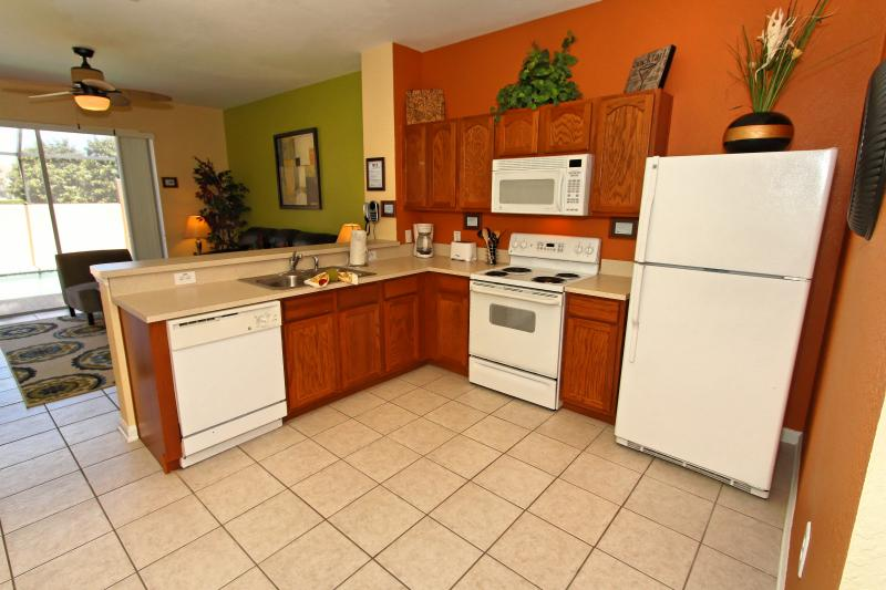 The Kitchen in fully equipped with everything you need to a great stay!