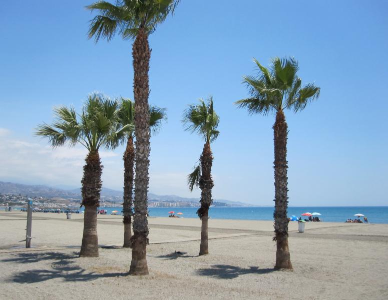 Seafront at Torre del Mar which is approx 20 minutes by car
