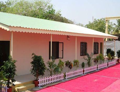 Out view of cottage/ camp of Kumbh Mela Wala