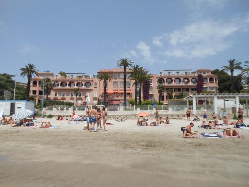 La Résidence vue de la plage