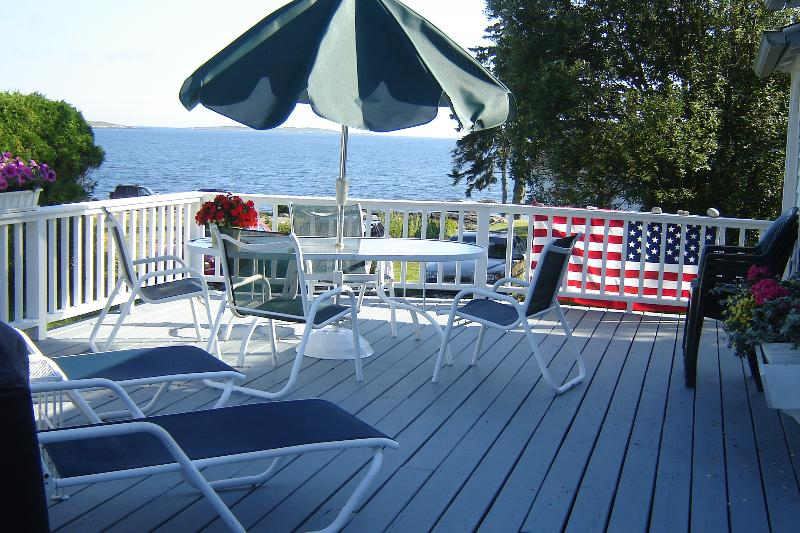 A beautiful Ocean Point Cottage! This charming cottage, rarely rented, is privately located at the e