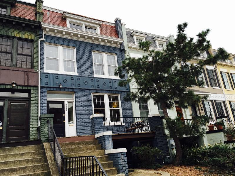 Entire beautiful historic row house in the heart of Dupont Circle--only two blocks to the Circle.