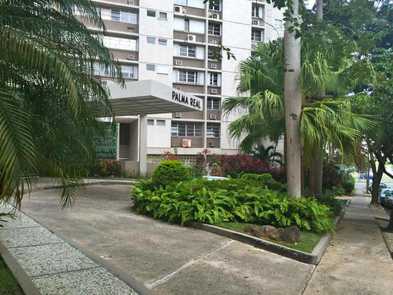 Entrance to condominium.