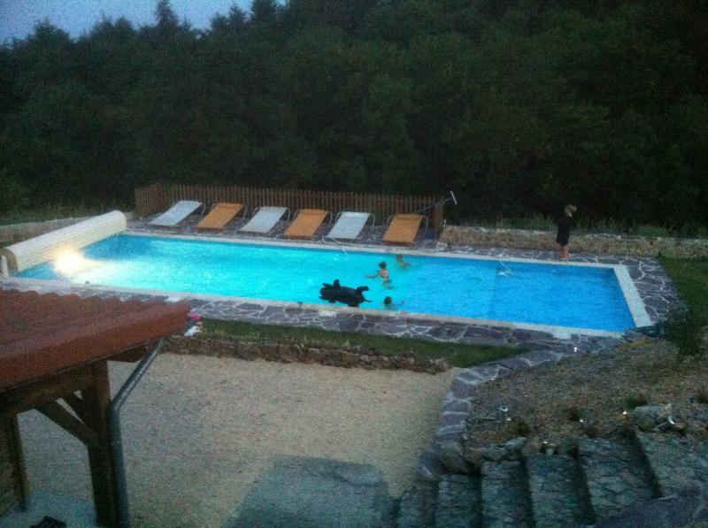 B&B met groot verwarmd zwembad en NL/FR eigenaars, holiday rental in Roisey