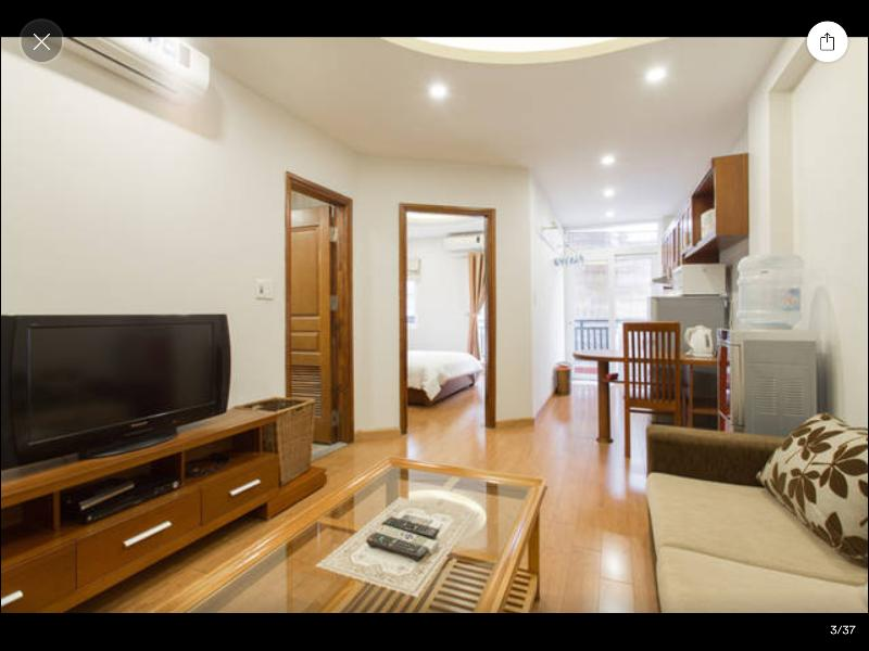 Spacious 1 bedroom with a wide balcony of flowers. High speed internet. Marble stone bathroom.