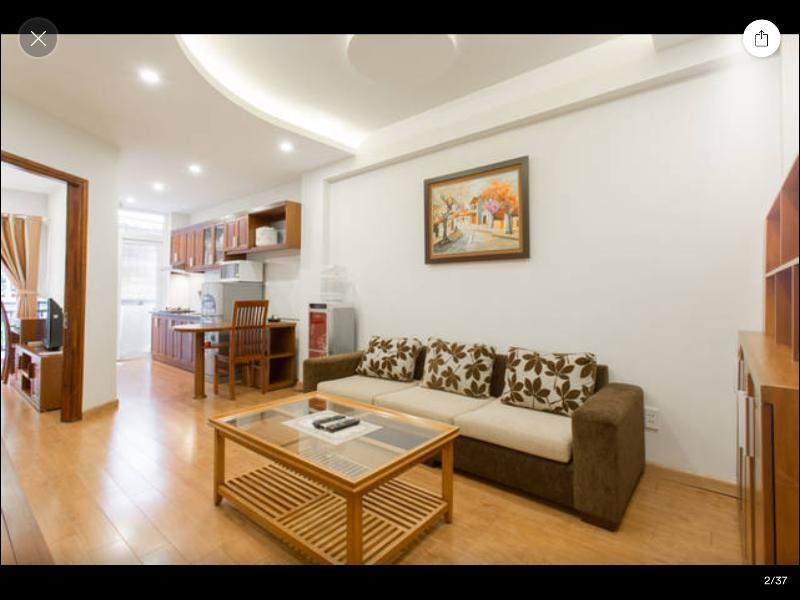 L501 Palmo Serviced Apartment - 1BR, Private balcony, Free laundry, vacation rental in Hanoi