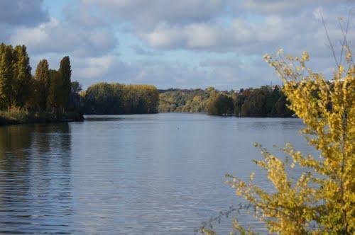 Les bords de Seine à 200 m de la maison