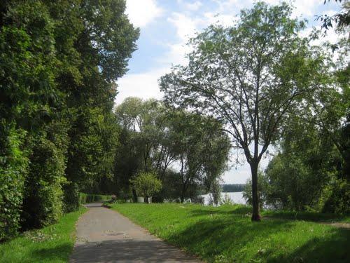 Une promenade de plusieurs km entre Herblay et Conflans...
