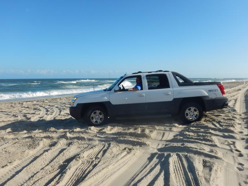 Driving is fun, by permit only.  Beach access ramps are clearly marked.