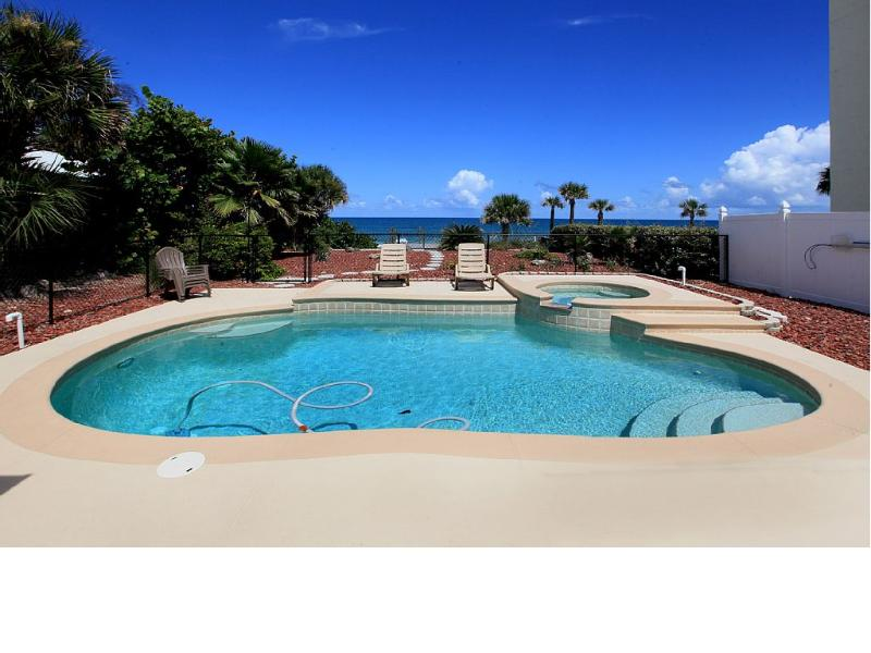 Ocean Front Beach House w/pool Daytona Beach Fl UPDATED ...
