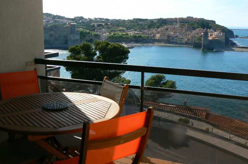 Has Terrace And Balcony Rental In Collioure France