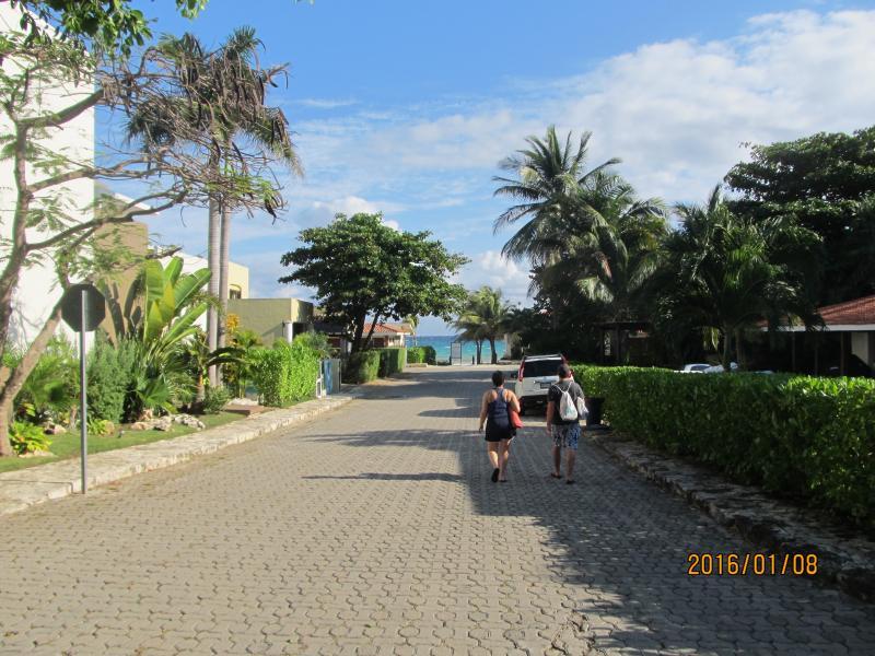 Beach walk from condo