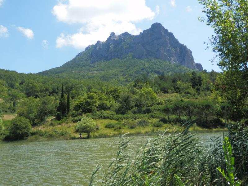 The lake at Bugarach