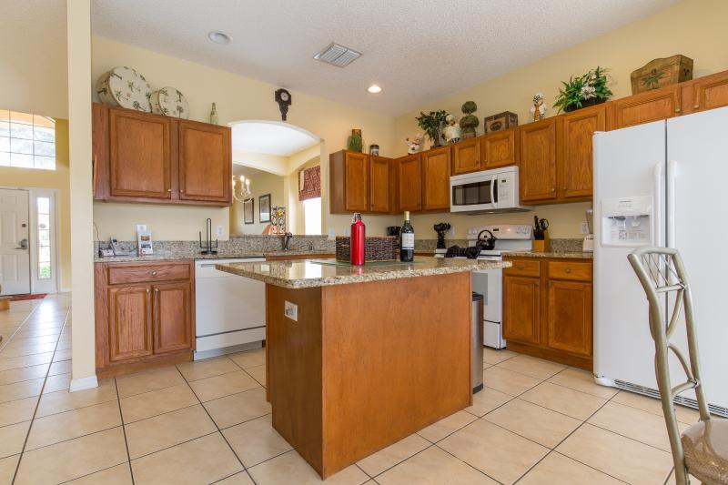 Kitchen is enough to make meals for any family