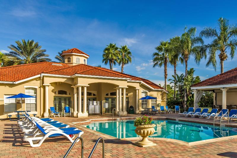 Resort clubhouse and common pool