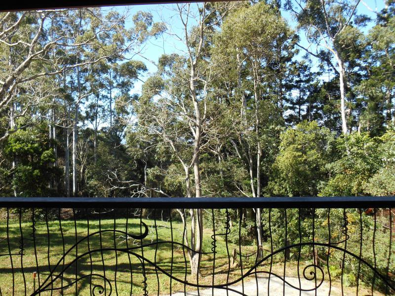 View from verandah.
