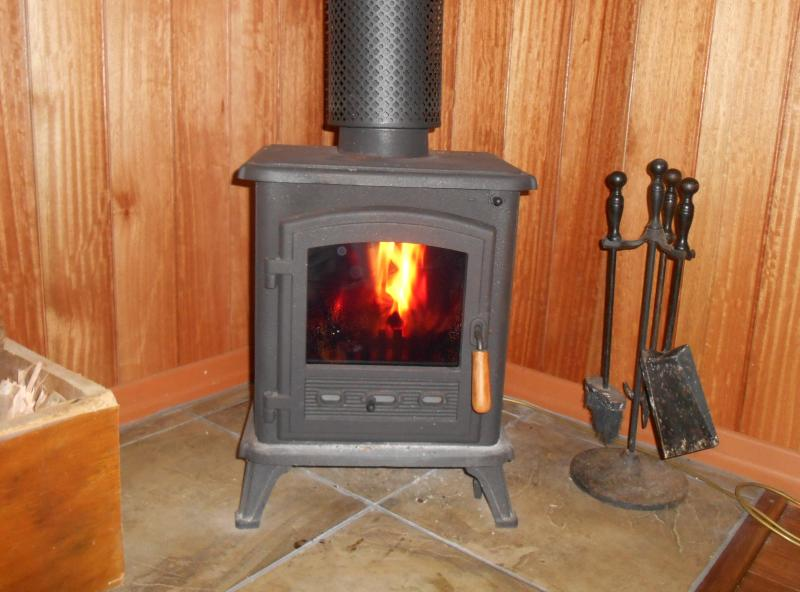 Cosy fire for those cold winter nights on the mountain!