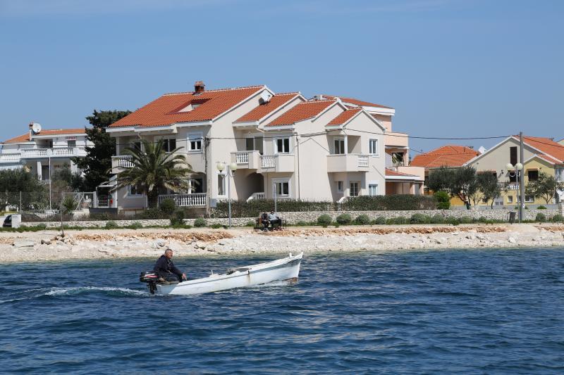 Die Villa Punta in Zadar direkt an der Strandpromenade