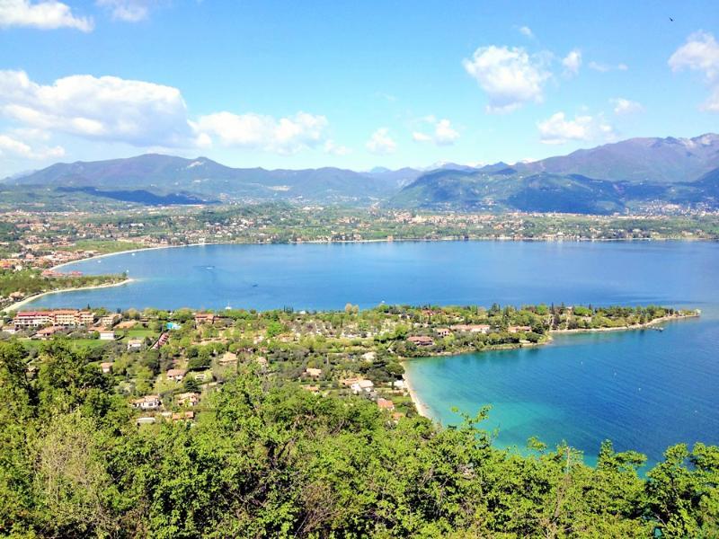 vistas del lago Garda