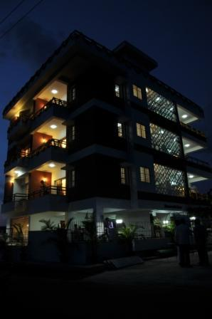 Night View of property