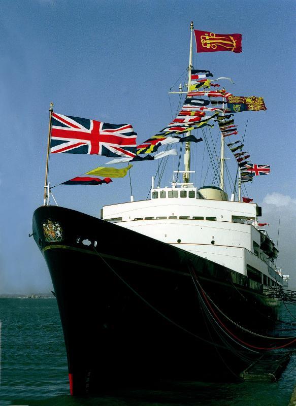 The Royal Yacht Britannia, at Ocean Terminal (#34 bus from London Road, c20mins)