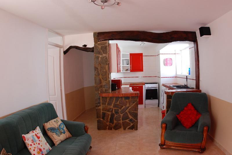 Lounge area including SKY TV and wifi