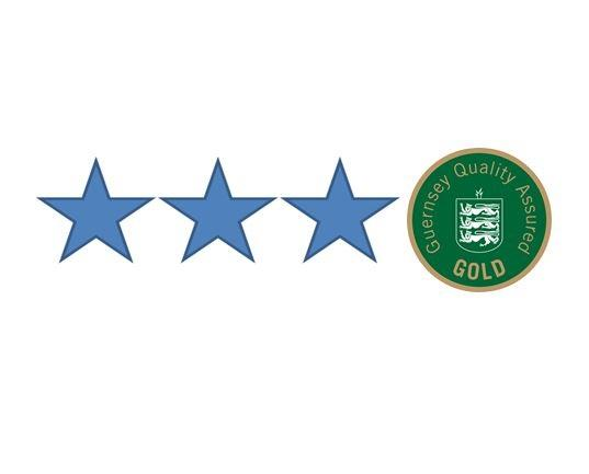 3 Star Grading with Gold Award for quality and housekeeping.
