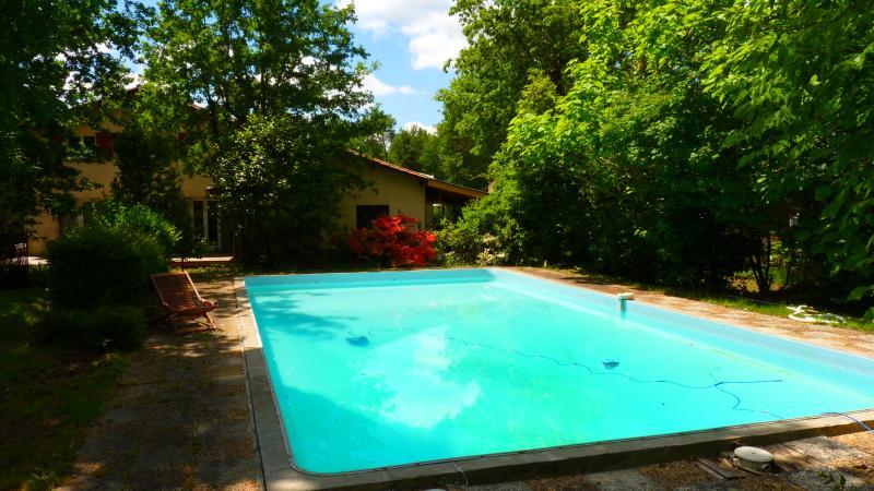 piscine en diamant jusqu'à 3.5 metres de profondeur  plein sud