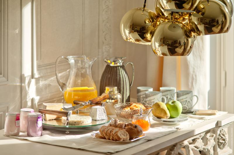 Full Buffert Breakfast served in our dining room, in a 'table d'hôte' at My Home For You