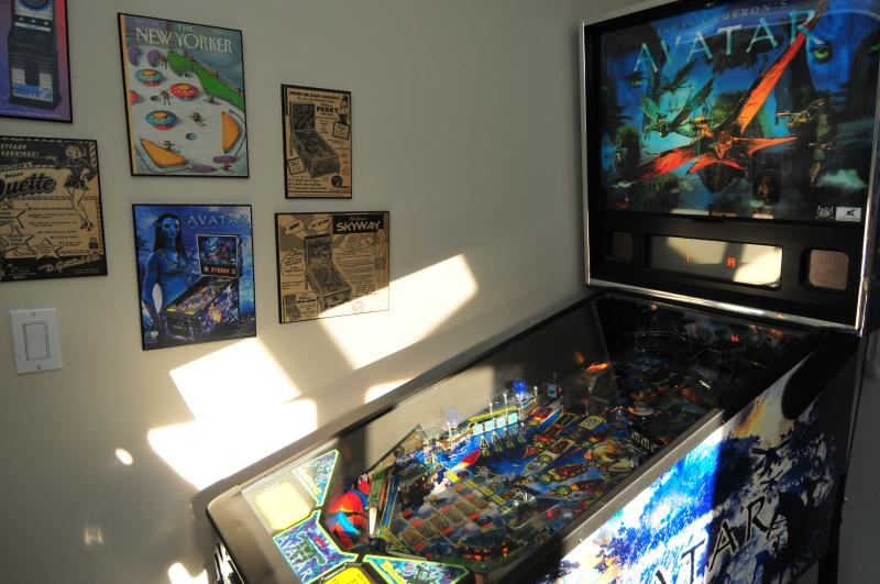 Yes - it is an 'Avatar' pinball!!!
