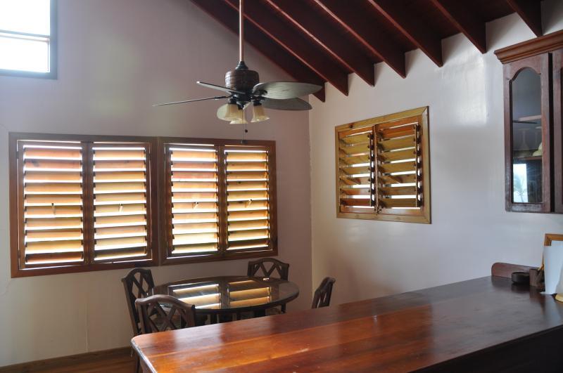 Dining Area in Reef Upper Villa