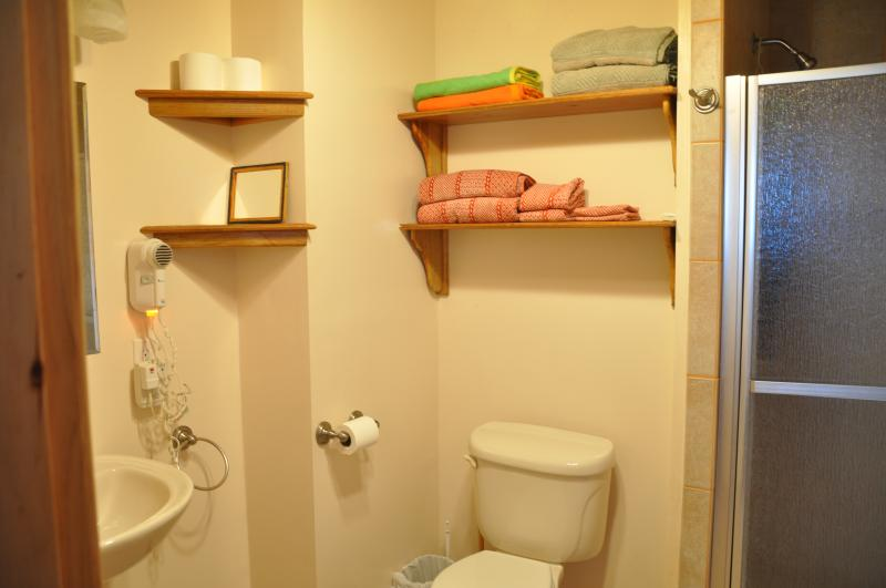 Upper Reef  Villa Bedroom #1 private bathroom
