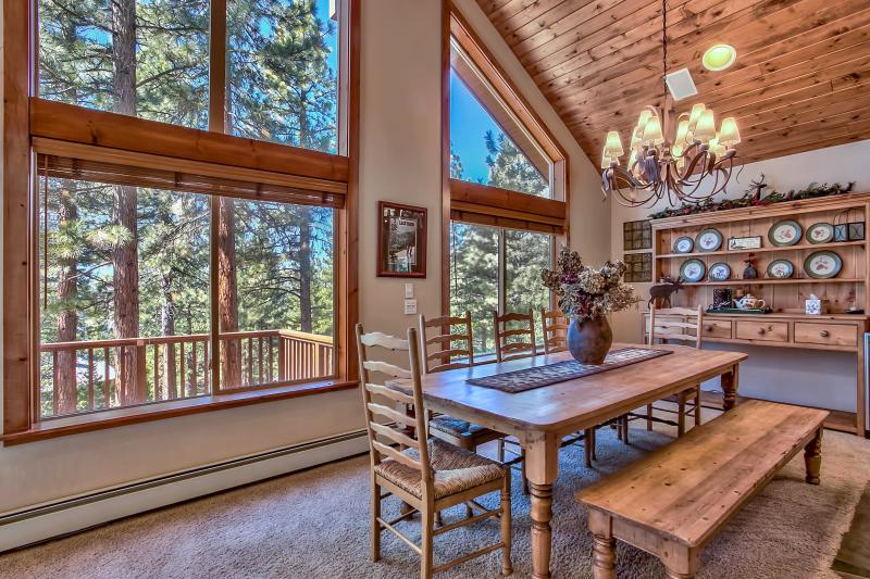 View of Lake Tahoe from Living Room and Dining Room
