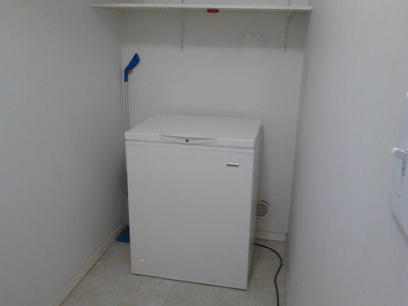 Shared freezer - down stairs
