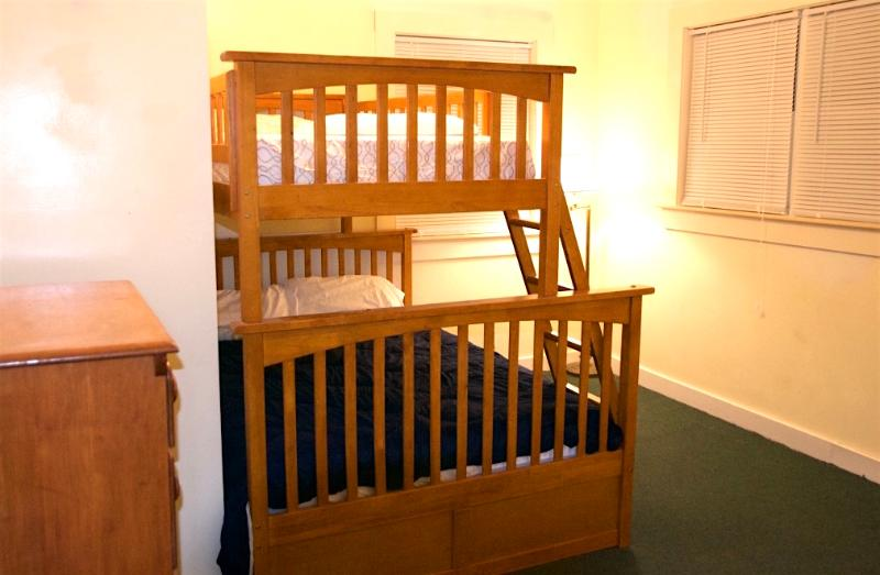 Bunk bed in one of the bedrooms!!
