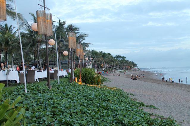 our local beach, 2 minute walk from Allira. here you will find La Luciola, Ku De Ta, Mano
