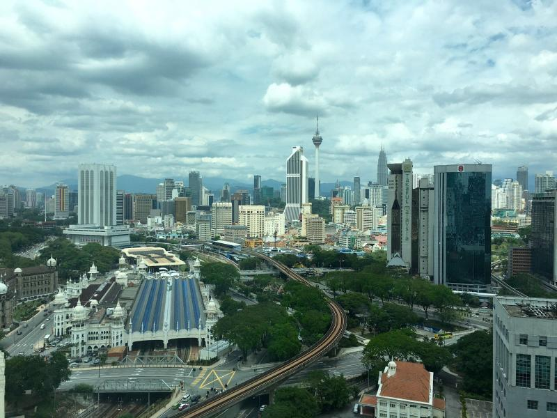 A holiday apartment with a panoramic view of KLCC & KL Tower. Perfectly located at KL Sentral.