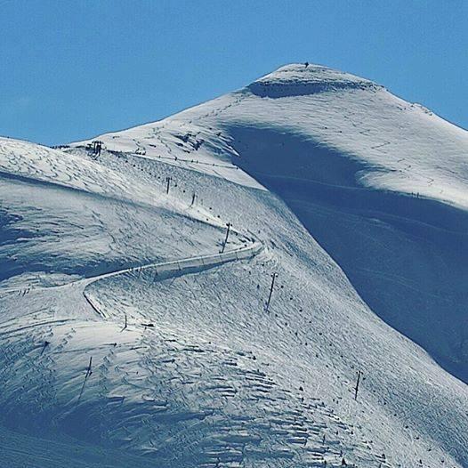 Sommet du domaine skiable de Saint-Gervais (le Mont-Joly)