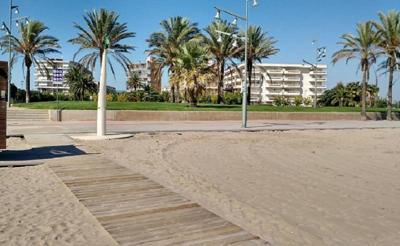Foto Edificio desde la playa