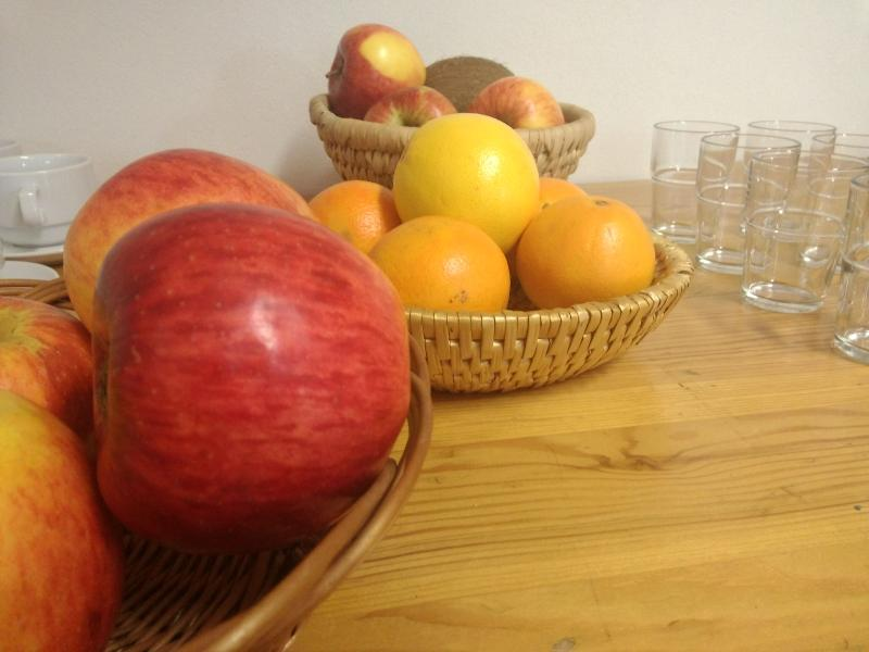 Las frutas frescas todos los días