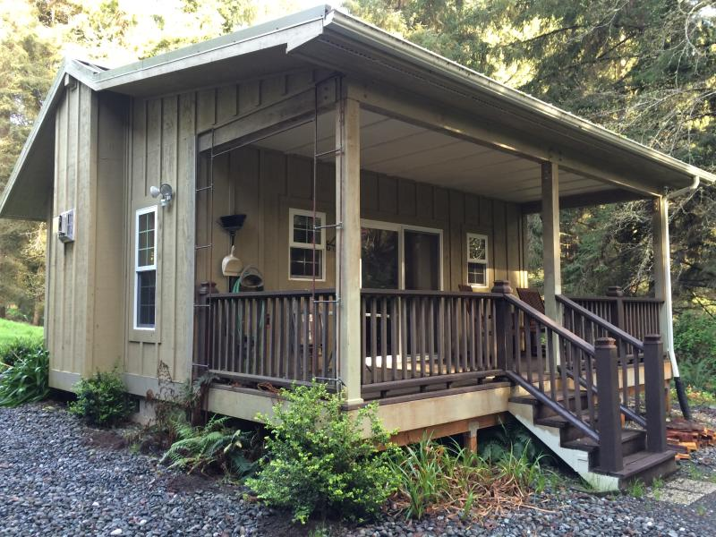 Cottage #1, the Forest Haven Suite is located on the N. CA Redwood Coast, epicenter of  tranquility.