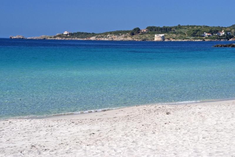 La spiaggia le Bombarde ad Alghero