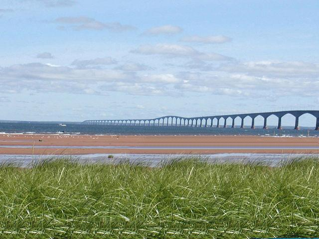 Beautiful view of the Confederation Bridge.