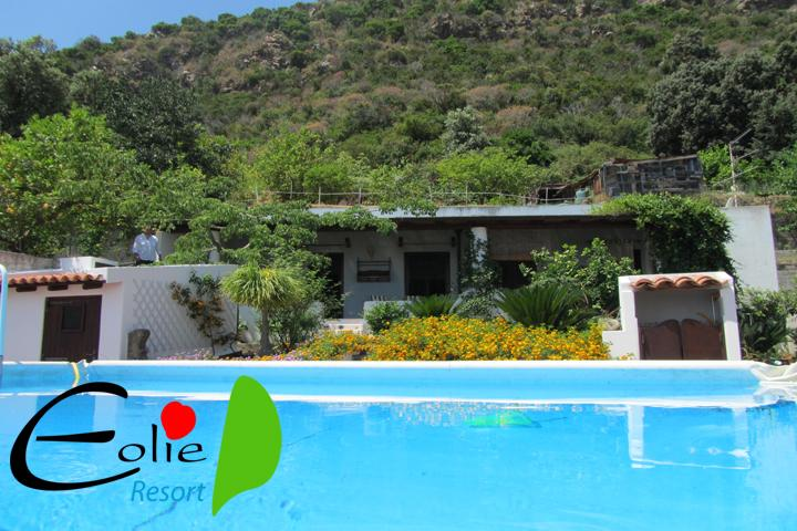Villa Agrumeto vista  piscina